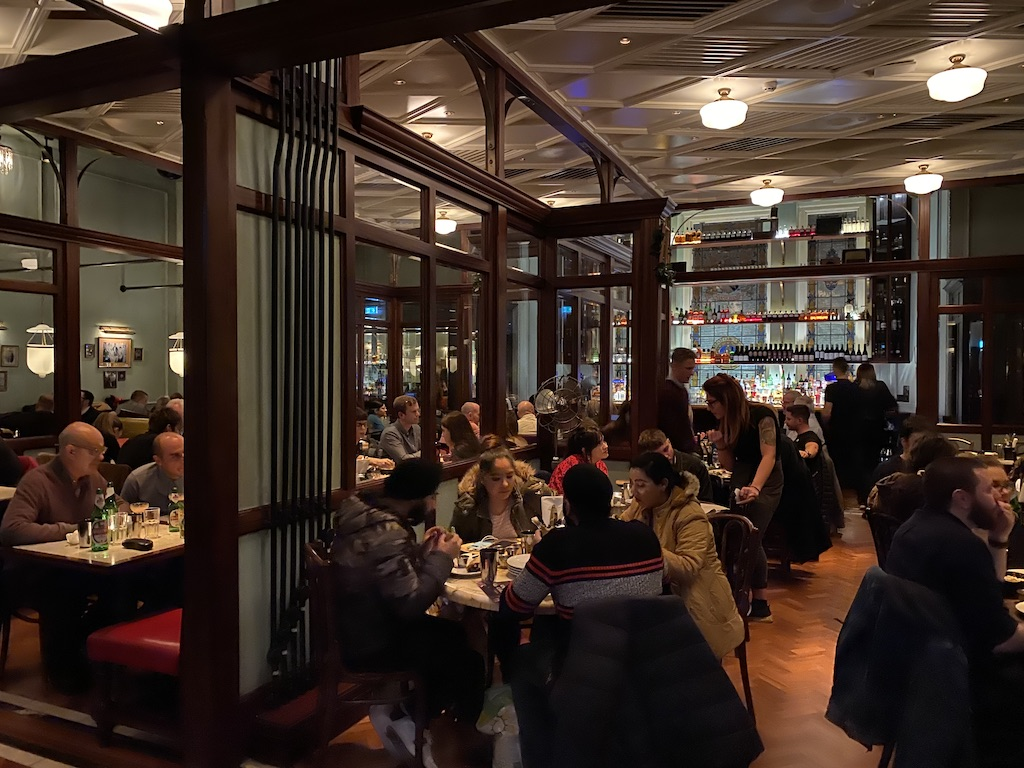 Travel Manchester England to see the Dishoom Indian Restaurant