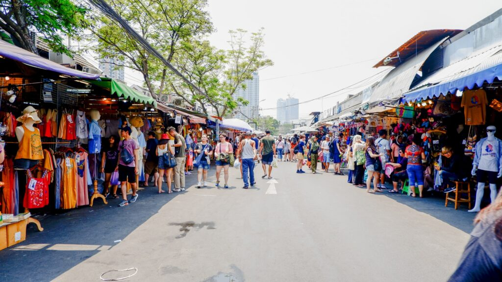 Find everything you need at the Thai markets.